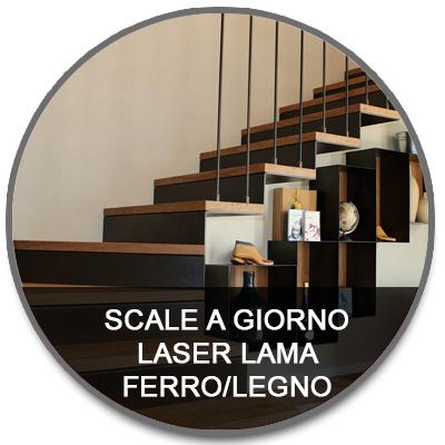 Laser lama ferro e legno