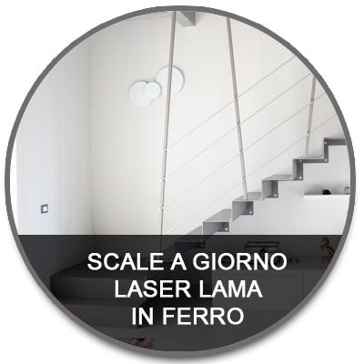 Laser lama in ferro