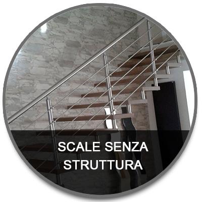 Scale mono struttura