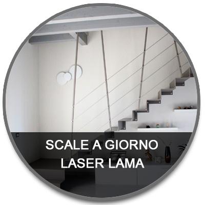 Scale a giorno laser lama